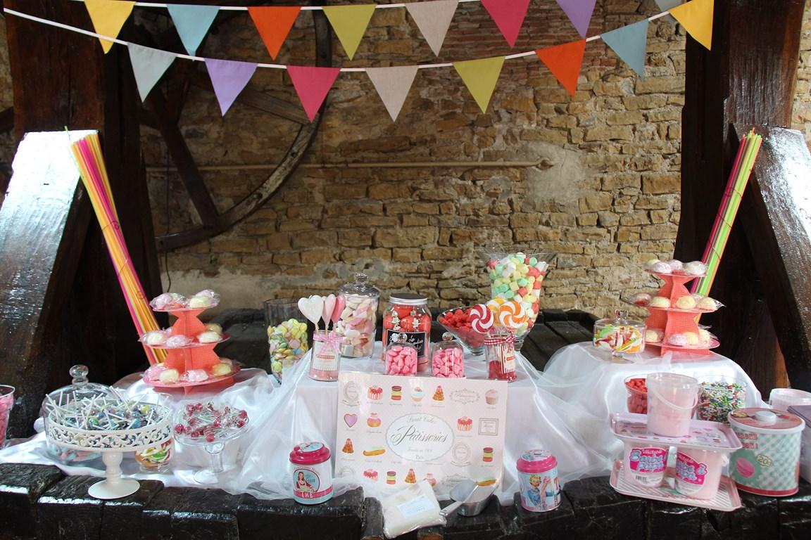Candy Bar au Chateau de Janzé