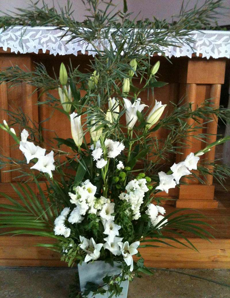 Bouquet eglise